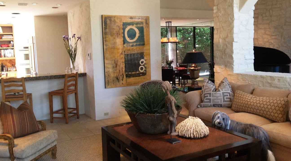 Achieving the right mix of contemporary, primitive, old world and comfort for the owners