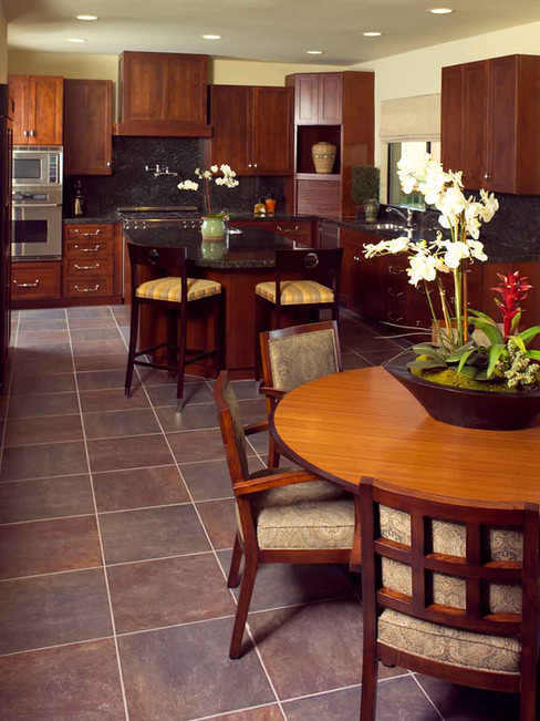 Kitchen & Family Room - AFTER