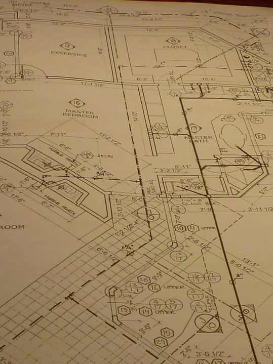Home Construciton & Remodeling Plan Blueprint