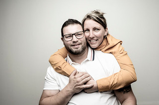 Portrait couple à Montignac,  3 place d'armes