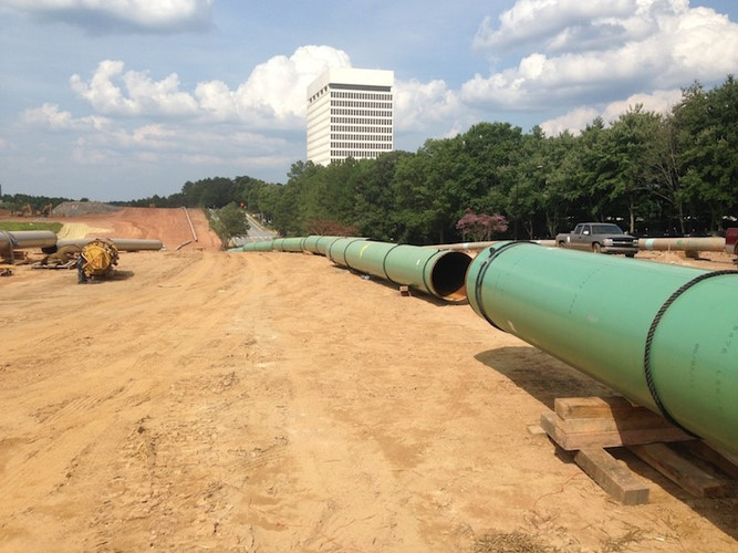 PIPELINE RELOCATION