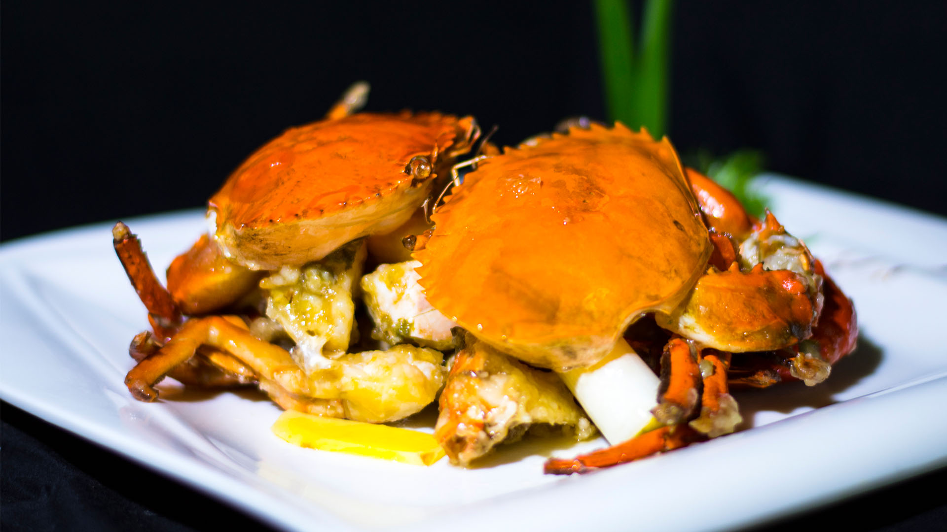 Spring Onion & Ginger Crab