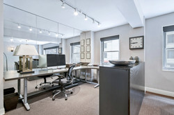 B. Home Office -Dining Alcove