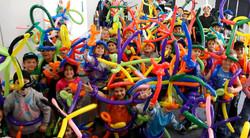 סדנת בלונים צבעוני לילדים