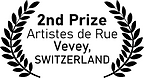 2nd Prize, Artistes d Rue, Vevey, Switzerland