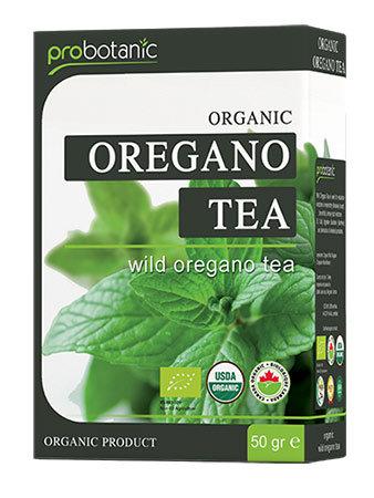Organic wild oregano tea