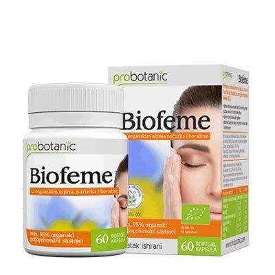 Biofeme capsules with Evening Primrose and Borage oil