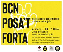 BCN Posa't Forta - Cicle a Sants