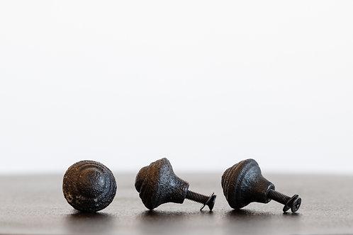 Small Pull Knob Black