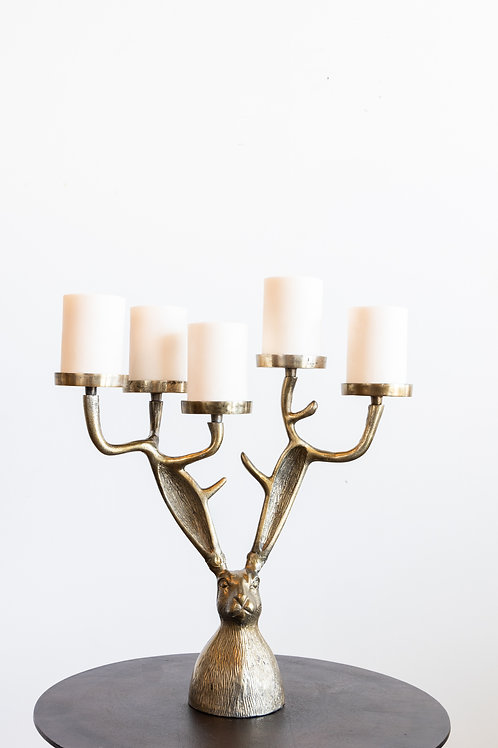Eric Candle Holder Brass