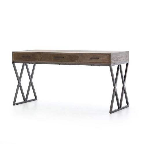 Sampson Desk | Light Grey Oak