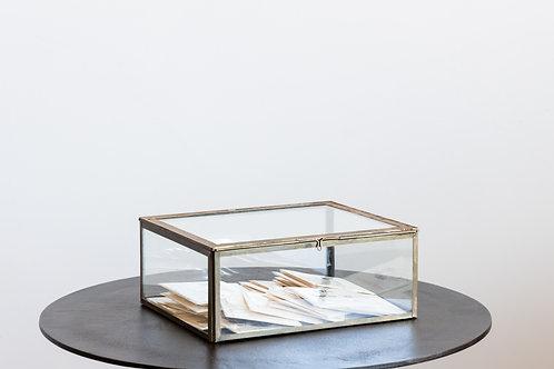 Embossed Brass Display Box