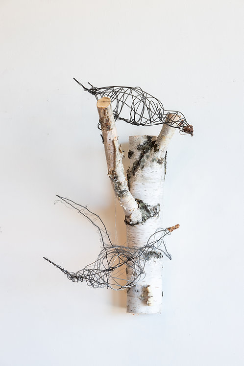Wire Bird Art