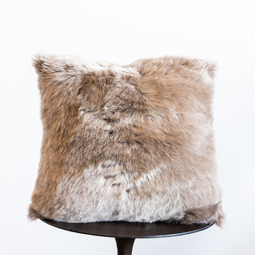 20 inch Fur Pillow-Vole