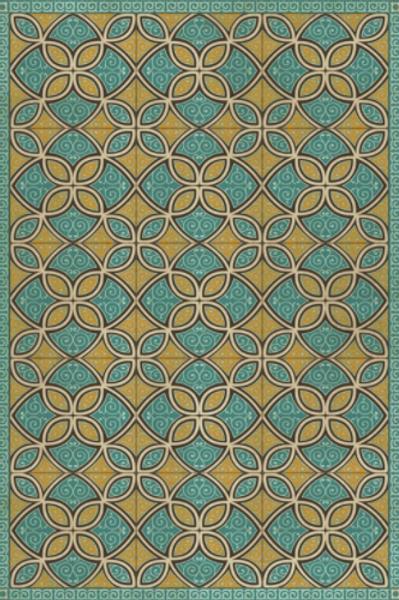 Pattern 25 | Augustus Vinyl Floor Mat