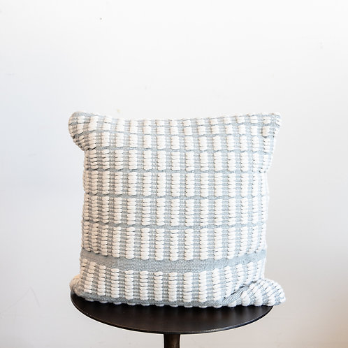 Blue Ivory Down Pillow 22x22