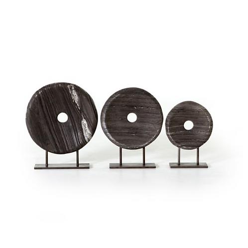 Linden Round Sculptures | Set of 3
