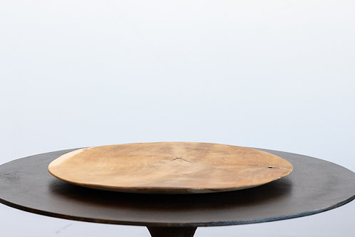 12 Inch Wooden Plate