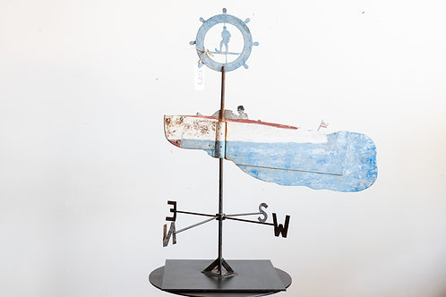 Vintage Boat Weather Vane