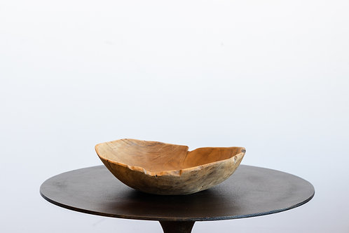 Natural Wooden Bowl 11 Inches