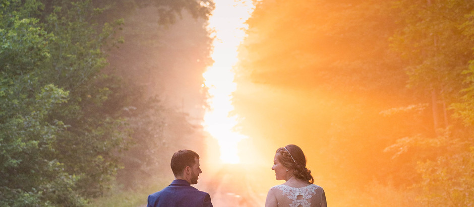 Sunsets & Smore's | Alicia & Brady's Wedding