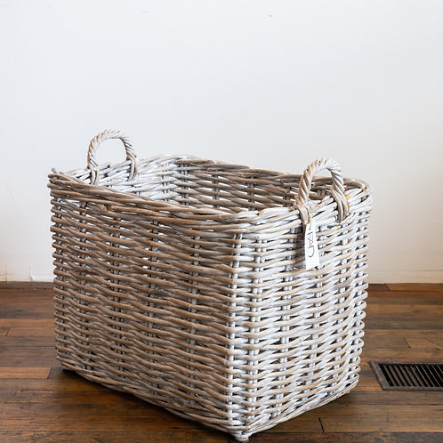 Large Grey Wash Basket