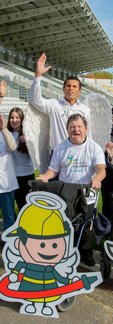Irish Wheelchair Association Angel's Campaign