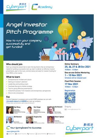 Poster_Angel Investor Pitch Training (Oc