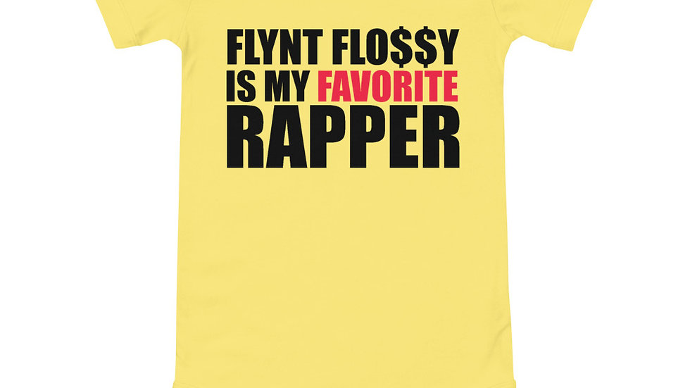 """FLYNT FLOSSY IS MY FAVORITE RAPPER"" Baby Onsie"