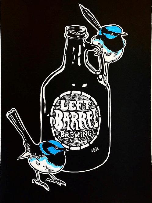 Thirsty Birds pt. 5 - Blue Wren & Left Barrel Growler