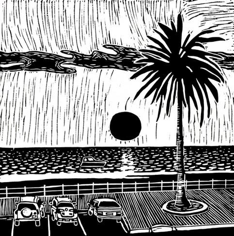 'Dusk at Brighton Beach'