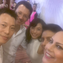 Hanging out with Jimmy Anton and other dancers in China