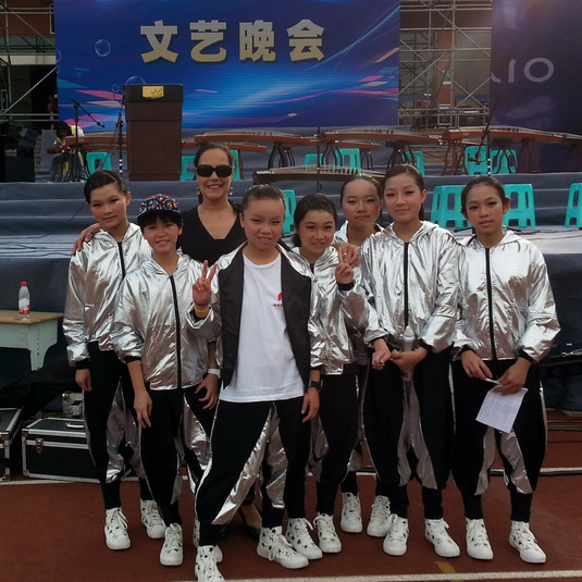 My performing students for the China Festival.
