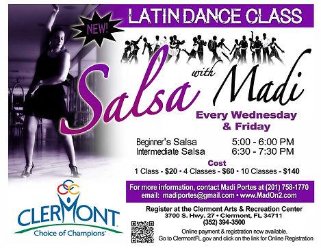 Madi Portes Salsa Dancer, Instructor & Choreographer