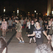Keep Dancing!  This was in another part of the Plaza