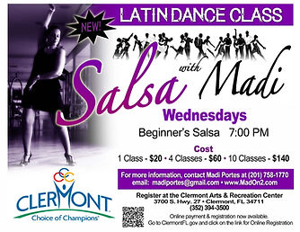 Salsa with Madi Portes - Clermont, Florida