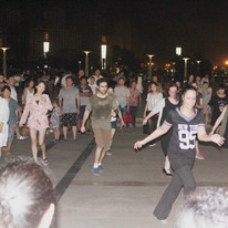 It was like dancing in Mid Summer Night's Swing -- but in China