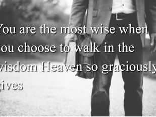 Choose the Right Wisdom
