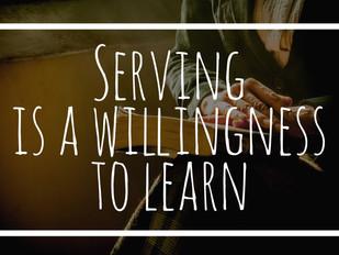 Serving Above All Else