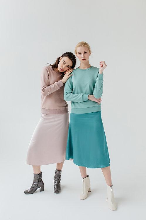 Юбка Silk skirt