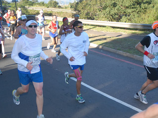 Thank You to Mr. Ross Lloyd for running  Boston Charity marathon for CSHF