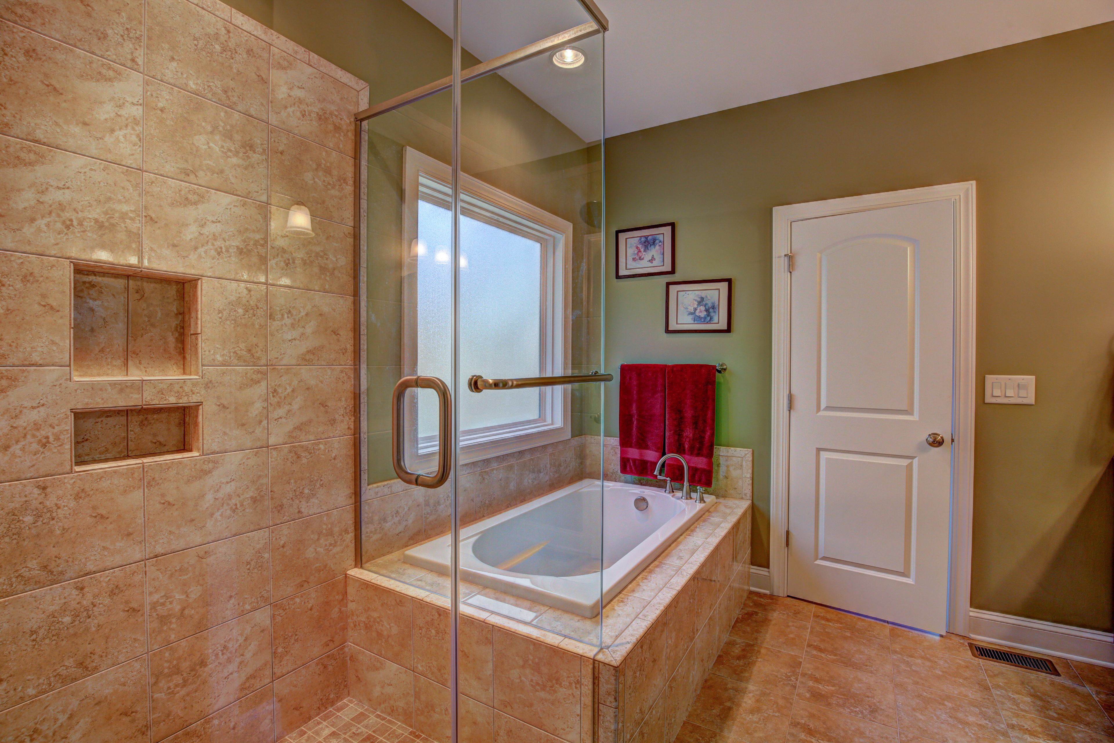 8810 Master tub and shower