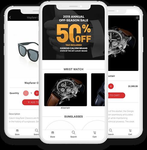 Melanie Marie ecommerce app