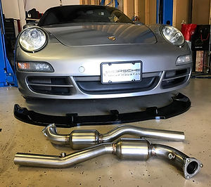Porsche Exhaust Performance