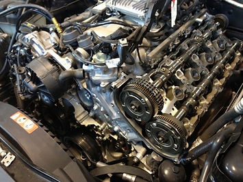 Mercedes Engine Repair