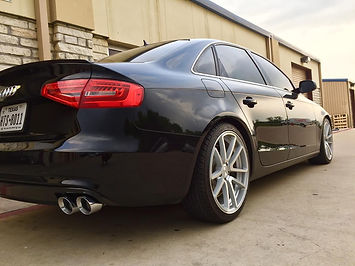 Audi A4 Suspension Lowered