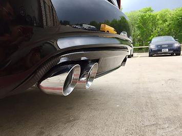 Audi A4 Performance Exhaust