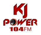 KJ Power 104 FM Logo White.png