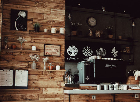 Available. The Coffee Shop Owner