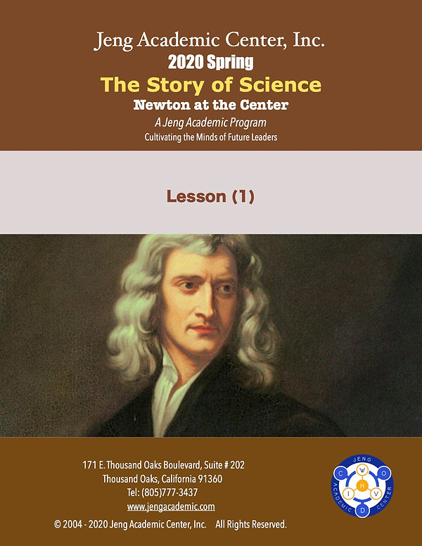 2020 Spring Science Story-Newton at the
